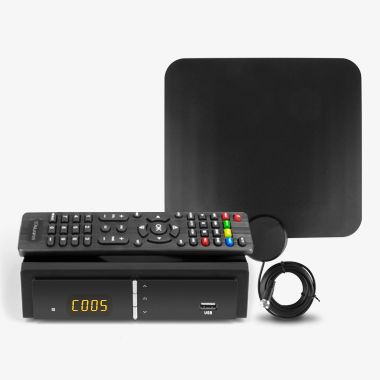 Digital TV Converter Box with HD Antenna, thumbnail
