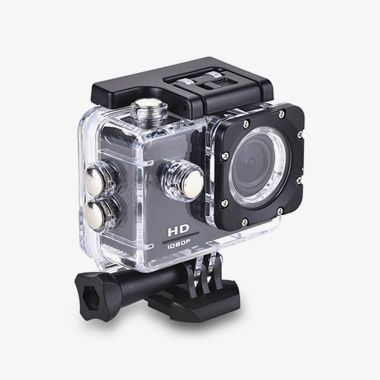 HD 1080p Sports Action Camera - thumbnail