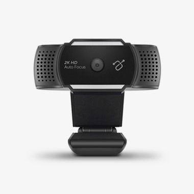 LIVE Ultra 2K HD Webcam with Auto Focus and Dual Stereo Noise Cancelling Mics, thumbnail