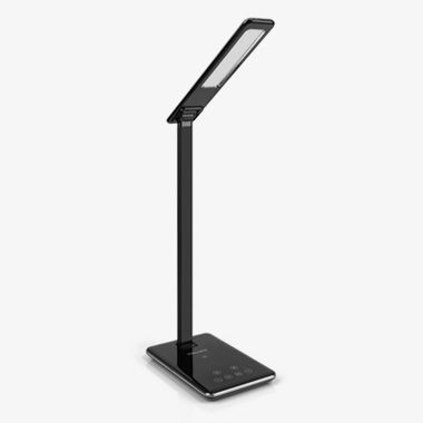 LED Foldable Desk Lamp with built-in Wireless Charging Pad, thumbnail