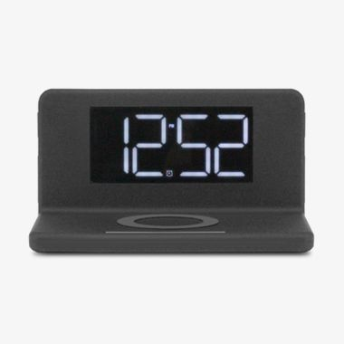Qi Wireless Charging Alarm Clock with Nightlight, thumbnail