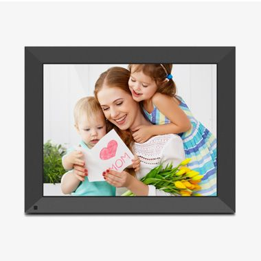 WiFi Touchscreen Digital Photo Frame with Motion Sensor, Auto Rotation and 32GB Built-in Memory - 15 inch, thumbnail