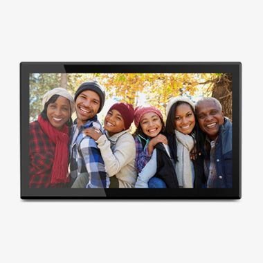 17.3 inch WiFi Digital Photo Frame with Touchscreen IPS LCD Display and 16GB Built-in Memory, Thumbnail