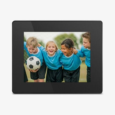 WiFi Digital Photo Frame with Touchscreen IPS LCD Display and 16GB Built-in Memory - 8 inch - thumbnail