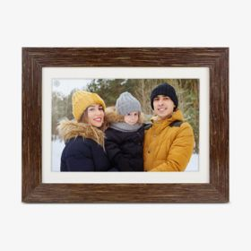 eco4life WiFi Digital Photo Frame with Touchscreen IPS LCD Display and 16GB Built-in Memory - 8 inch - thumbnail