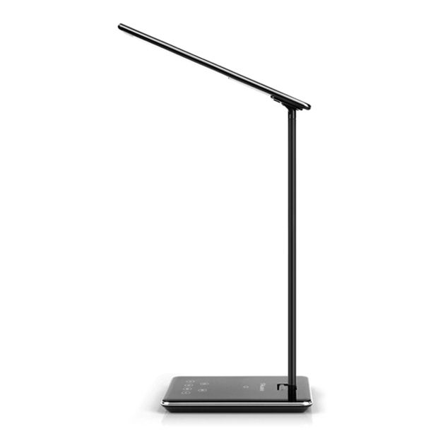Led Foldable Desk Lamp With Built In, Folding Desk Lamp Dimmable