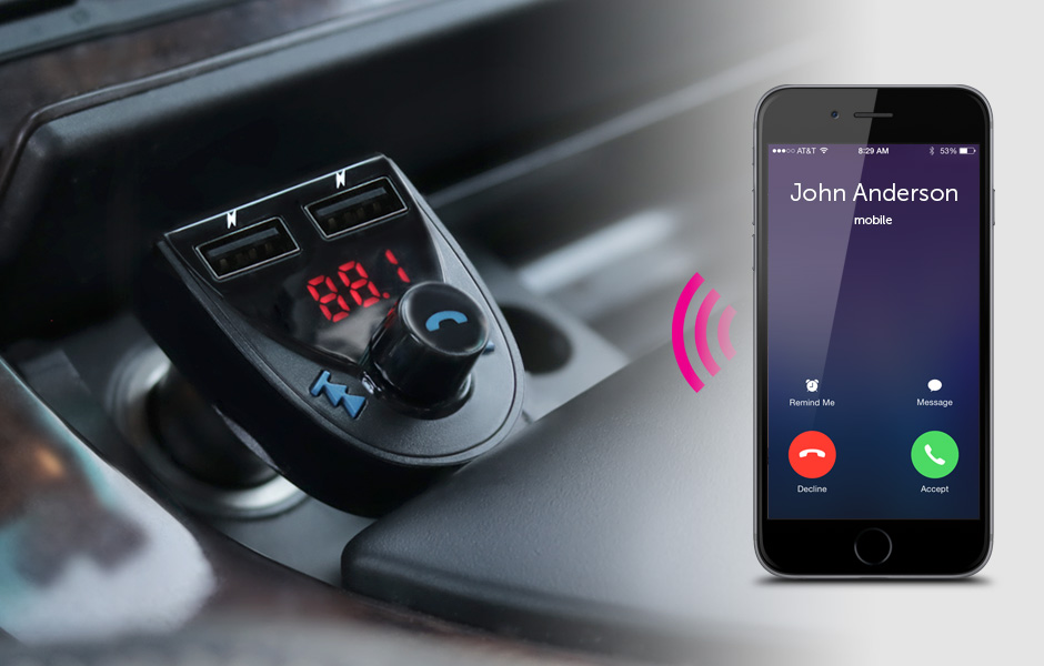 Bluetooth Audio FM Transmitter
