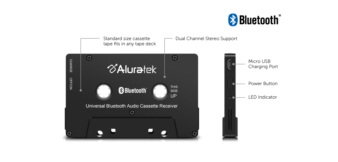 Universal Bluetooth Audio Cassette Receiver application