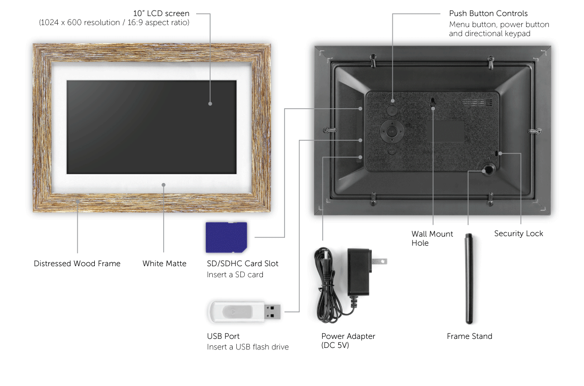 10 inch Digital Frame Application