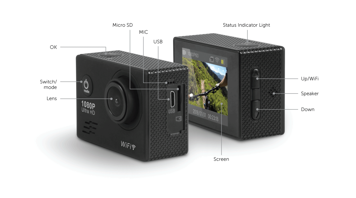 WiFi Action Camera Application