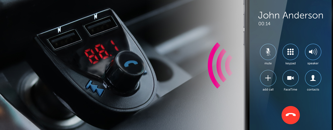 bluetooth phone and car