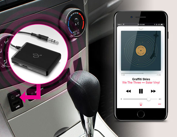 Stream Music Through Your Vehicle's Speakers
