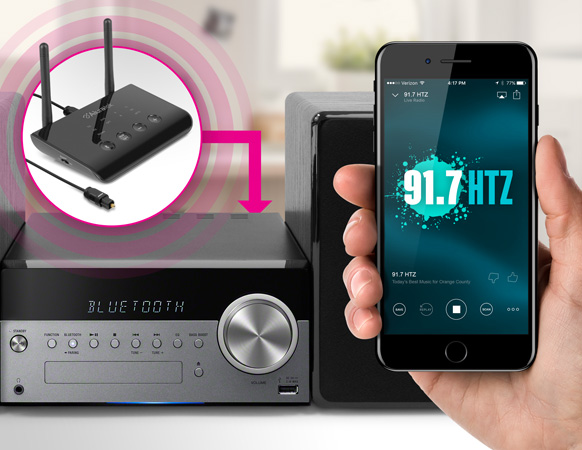 Bluetooth Enable Stereos and Speaker Docks